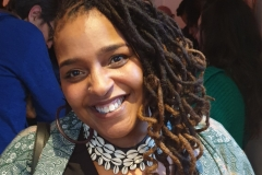 "Author Desiree Reynolds @ ""Afropean – Notes from Black Europe"" launch party"