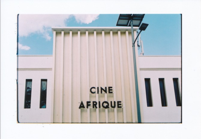 'Cinema in Stonetown, Zanzibar: the birthplace of Swahili' © Heleen Debeuckelaere