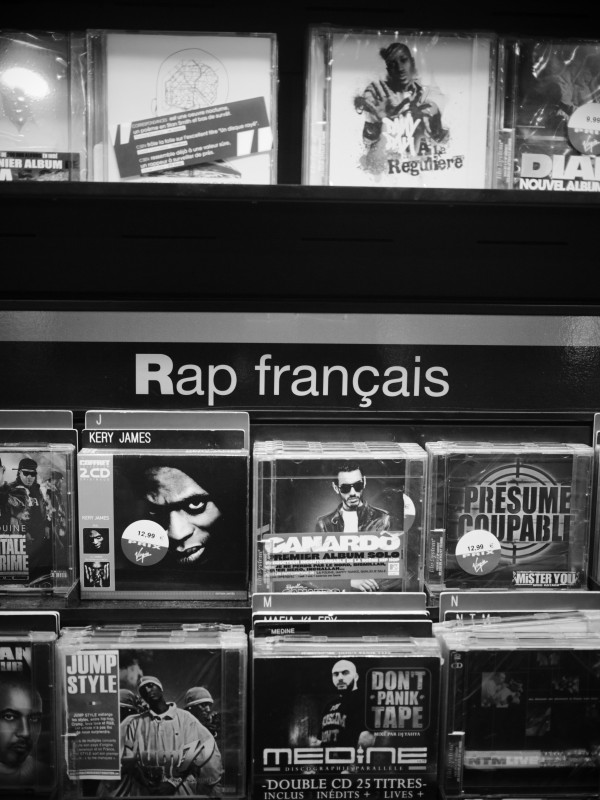 Rap Francais, Paris