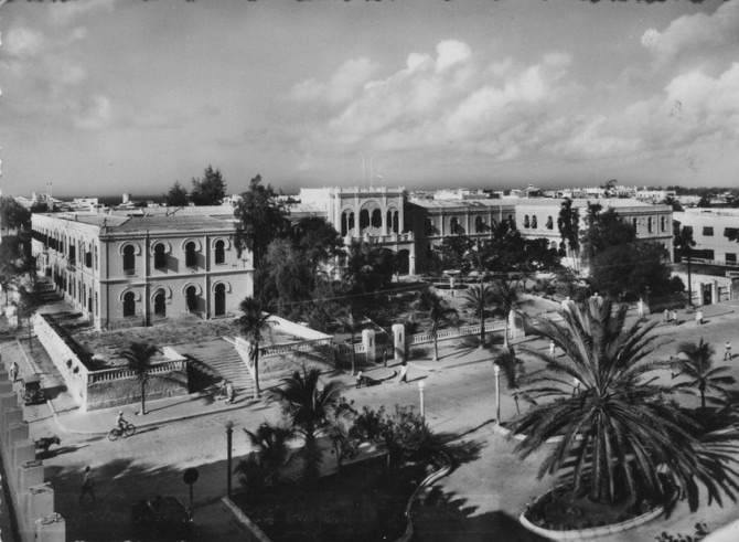 Banadir Regional Administration,1930's (Source: Private Collection)