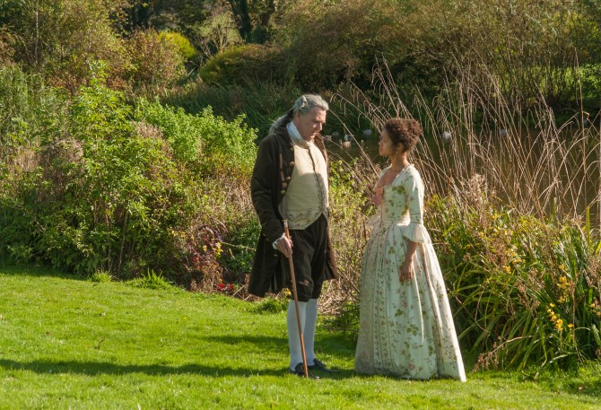 Belle with Lord Mansfield