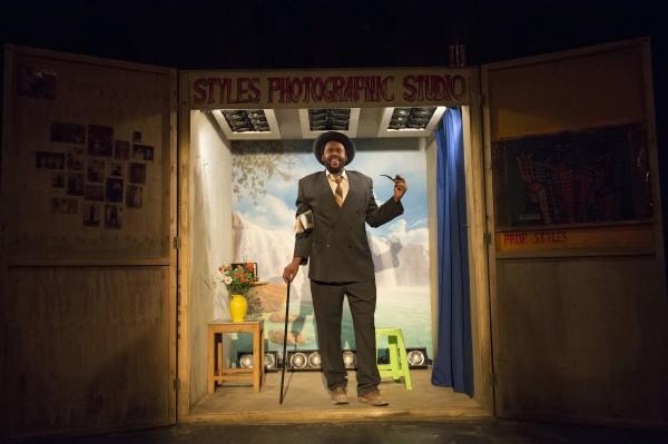 Sibusiso Mamba as Sizwe Banzi Photo by Richard Hubert Smith