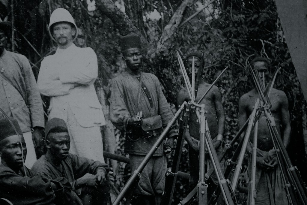 Photograph from the 'Trenches in Africa 1914-1918' exhibition