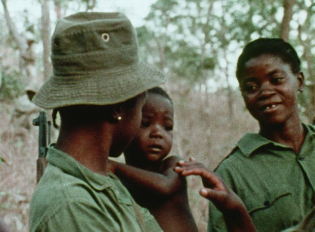 Still from 'Concerning Violence'
