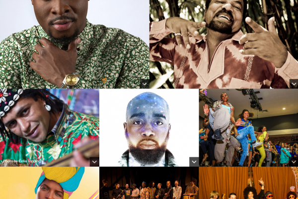 Artista and events at Africa Centre's summer festival 2016