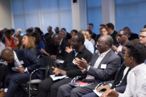 Photograph of a part of the audience at Africa Tech Forum 2015