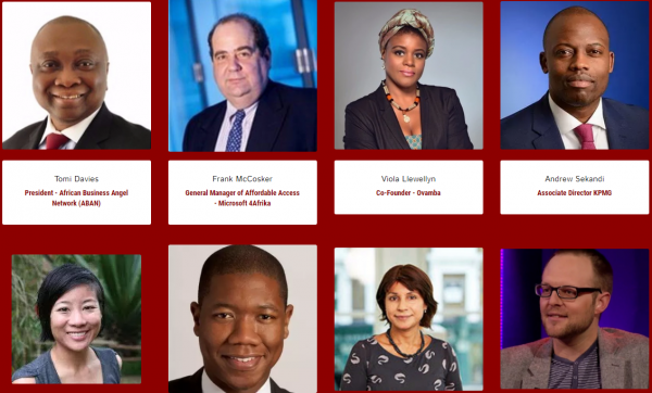 Photos with names of some of invited speakers at Africa Tech Forum 2016