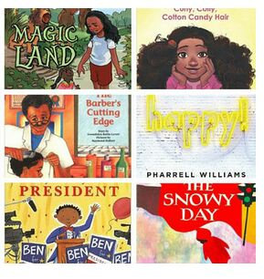 Collage of children's book covers