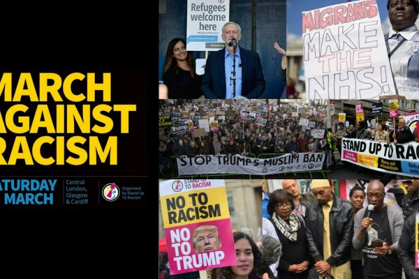 March against racism - 17th March 2018