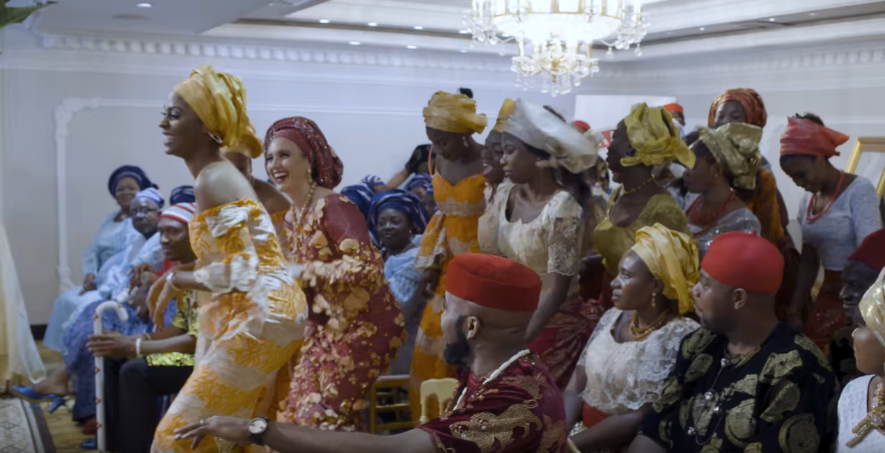 The Wedding Party 2.Nollywood Movie The Wedding Party 2 To Be Released At