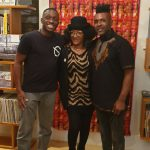 "Afropean's Yomi Bazuaye, Celia (Les Nubians) and Omar @ ""Afropean - Notes from Black Europe"" launch party"