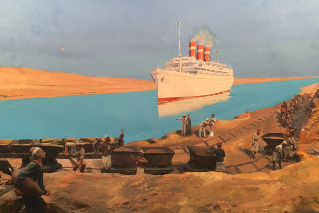 L'Epopee du Canal de Suez exhibition at the World Arab Institute