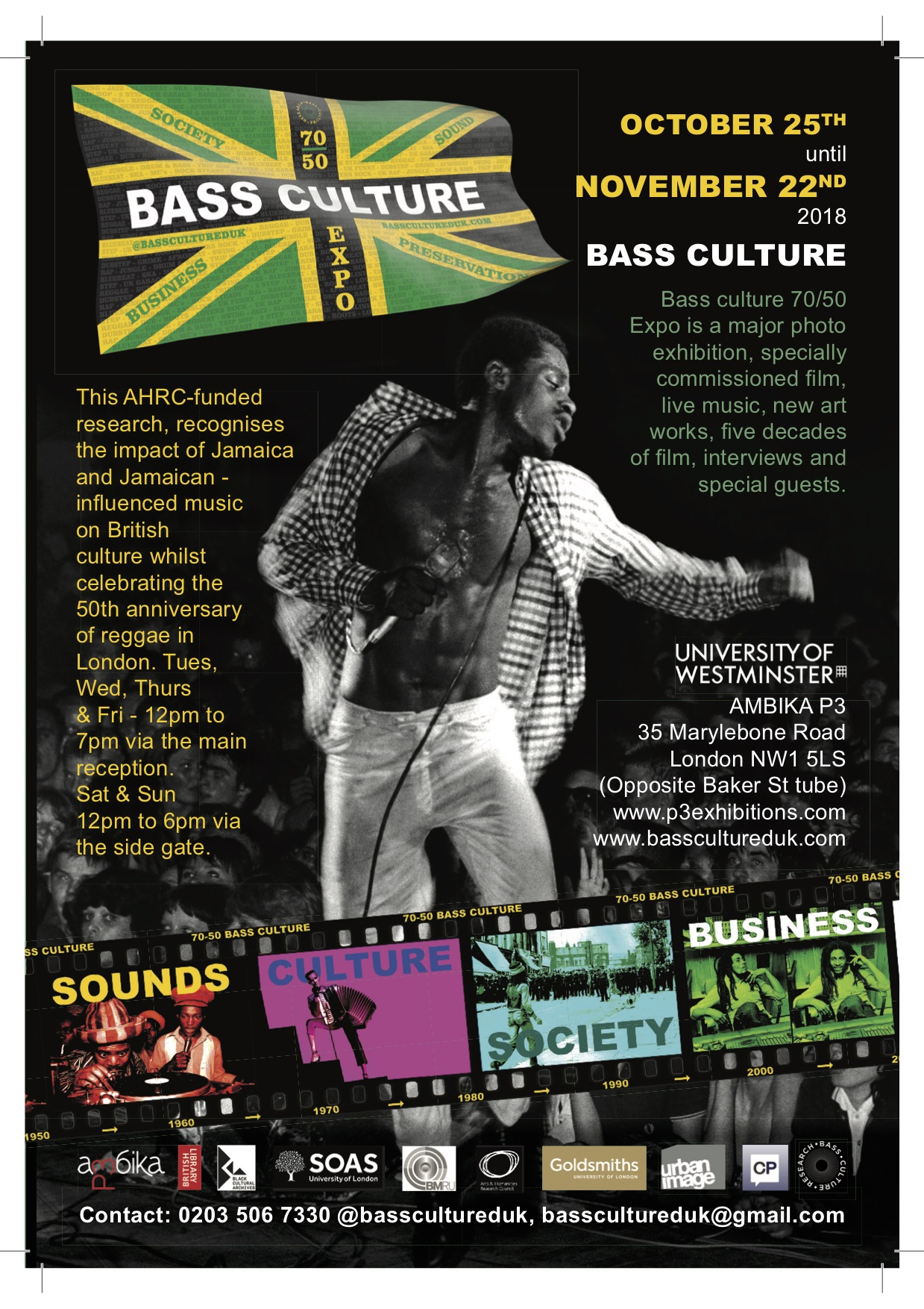 Bass Culture 70/50: The UK's largest Jamaican music