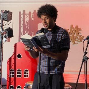 "Johny Pitts reads from ""Afropean - Notes on black Europe"""