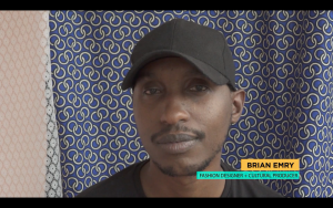 Brian Emry, fashion designer & cultural producer