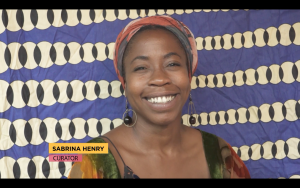 Sabrina Henry, art curator