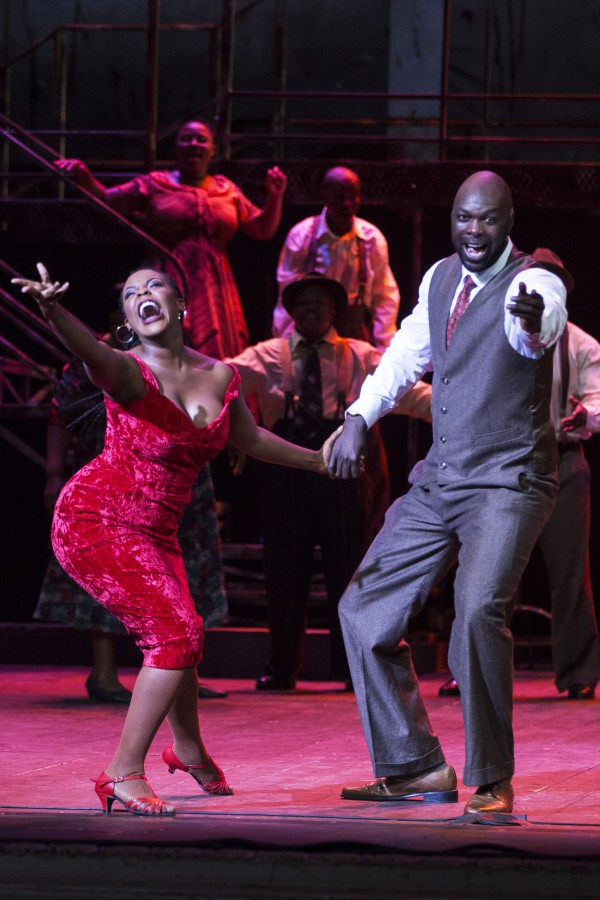 Candida Mosoma as Dolly and Peace Nzirawa in MANDELA TRILOGY