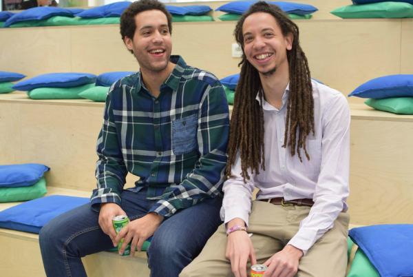 Ewala's founders, Sinouhe Monteiro and Stéphane Ugeux.