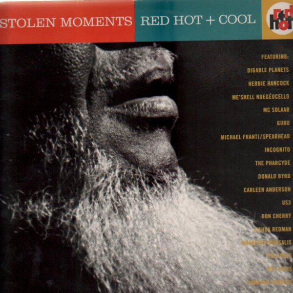 Cover of Stolen moments: Red hot and cool