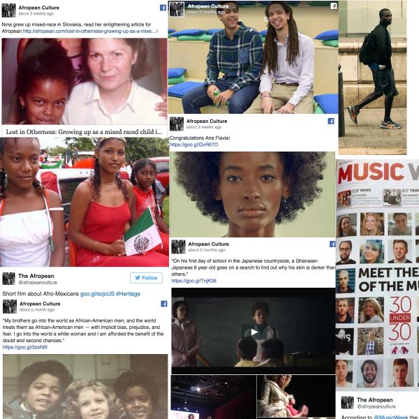 Afropean social media highlights 2016