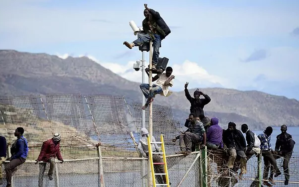 Melilla © telegraph.co.uk